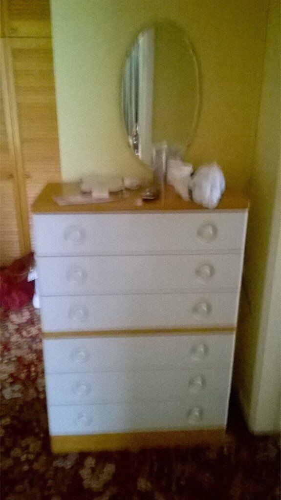 For sale, good quality tall chest of drawers.