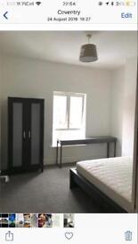 1 bedroom £350 near coventry uni / city centre