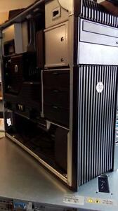 HP Z620 Workstations - 2 x Xeon 6 Core - 32Gb RAM - 256Gb SSD + 1Tb HDD - nVidia Quadro K2000 -