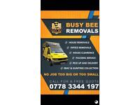 House Removals man and van house clearance