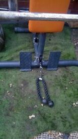 DOMYOS smith machine with weight bench - CAN DELIVER