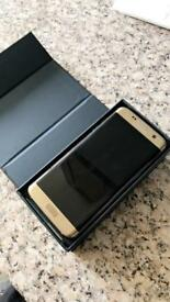 Samsung s7 edge GOLD UNLOCKED