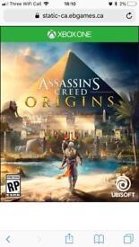 Assassins Creed Origins. Xbox one.