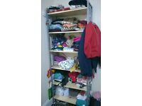 Excellent condition Tall Shelf .....can be separate for transport fits in the car by 31 dec