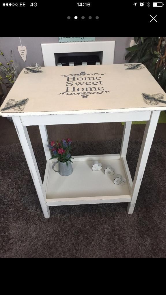 Lovely shabby chic table