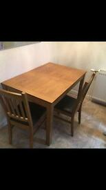 Mint condition table and chairs