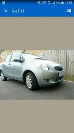 TOYOTA YARIS (2007) TR 1.3, 5 DOOR , LOW MILEAGE, SILVER HPI CLEAR