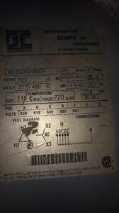 20 KVA Bmag Transformer HV 600 Delta– LV 277/480Y