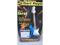 Squier by Fender Stratocaster G-Dec Junior Pack -As New-Unused