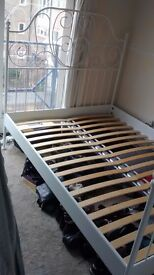 FOR SALE: Ikea Leirvik Double Bed Frame