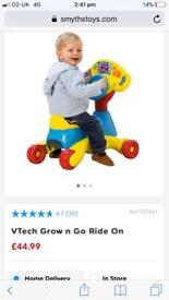 Vtech go and grow ride on