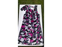 Oasis NEW ladies silk dress size 10