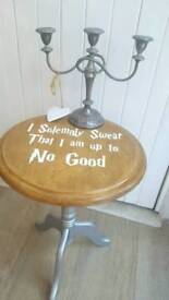 Character Oval Drinks Table