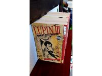 Lupin III World's most wanted volumes 1-9 very rare