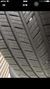 225-65-17 Michelin summer 4 pneu 8/32