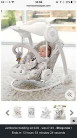 Mamas & Papas Starlite Swing -Brand new in box