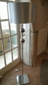 Floor Standing Lamp, Contemporary and unusual from M & S..brand new condition