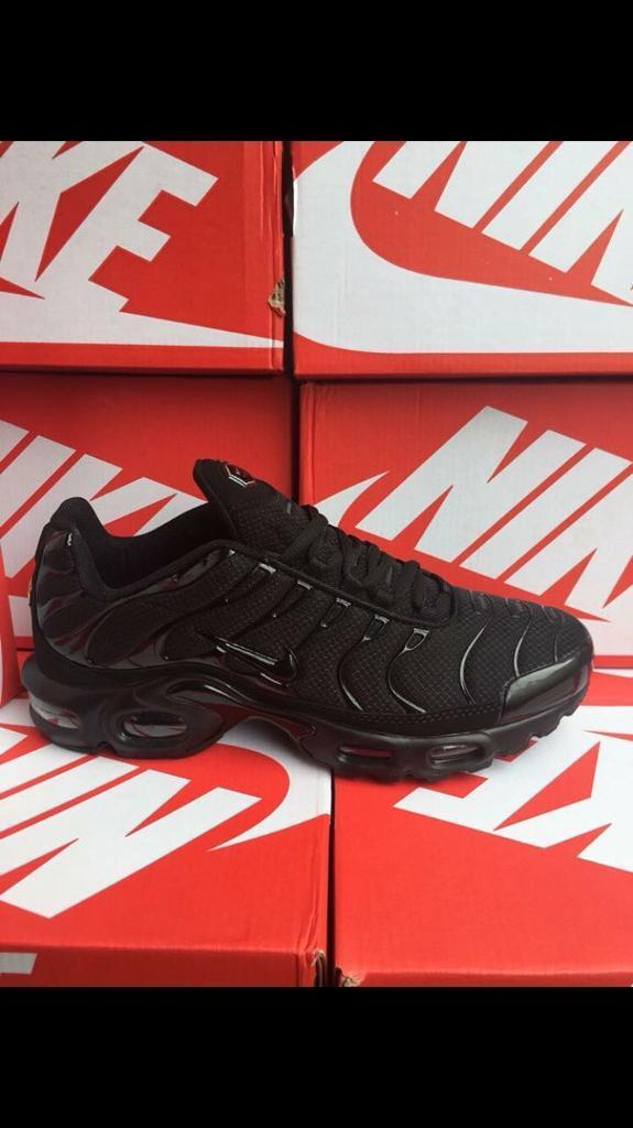 finest selection 95ff4 a48e0 Nike tns Tn Air Max Plus all Black New In Box | in Nottingham,  Nottinghamshire | Gumtree