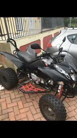 Road legal 500cc quad
