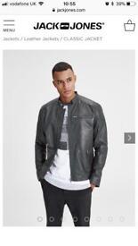 Jack jones Leather jacket