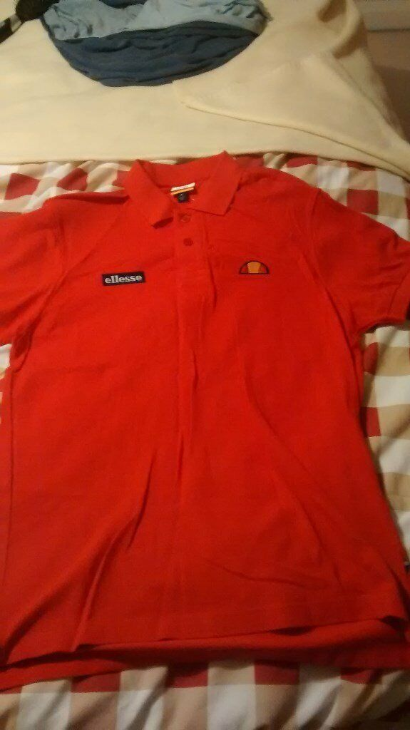 ac86ecd3 New Genuine Sample Ellesse Heritage - Red Polo Shirt Size Medium | in  Kippax, West Yorkshire | Gumtree