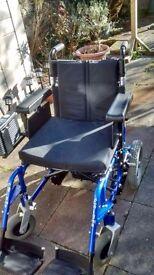 "Enigma Energi 18"" Electric Wheelchair"
