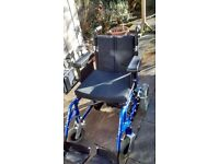 "Enigma Energi 18"" Electric Wheelchair"