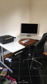 Office chair and desk for sale!