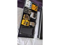 Multi effects pedal board - complete