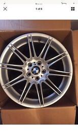 "GENUINE BMW MV4 ALLOYS 19"""