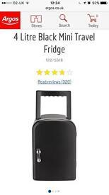 New without box black portable Mini fridge
