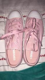 Pink limited edition converse