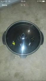 LARGE PIZZA MAKER COOKING PAN
