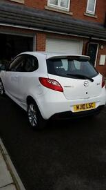 Mazda 2 sport white