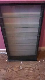 Black & Glass display cabinet