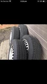 Vw transporter t5 steel rims, alloy wheels, 16inch