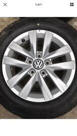VW transporter alloys