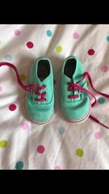 Toddler Vans Shoes Size 4