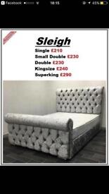 Sleigh beds in all sizes