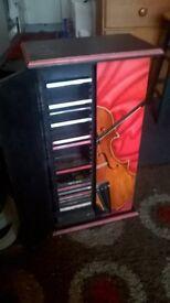 cd rack, storage unite, violin - Edmonton Green