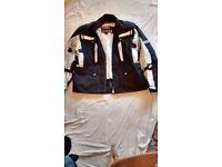 Set of NEW (never worn), men's motorbike gear