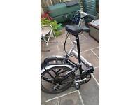 Fold up bike Apollo transiton