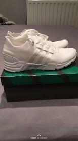 Adidas EQT Primeknit white size 9 New Offers welcome