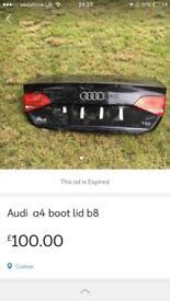 A4 boot lid