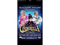 Cinderella 3rd row stalls tickets x2