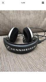 Sennheiser HD 555 Headband Headphones - Black & Grey
