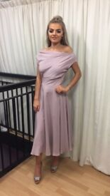 Mother of the bride dress and cape size 8 by una rodden