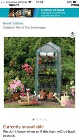 Garden lean to, plastic from dobies