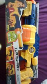 X-shot Turbo Fire Dart Blaster NERF Type Gun