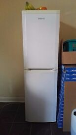 BEKO fridge freezer white